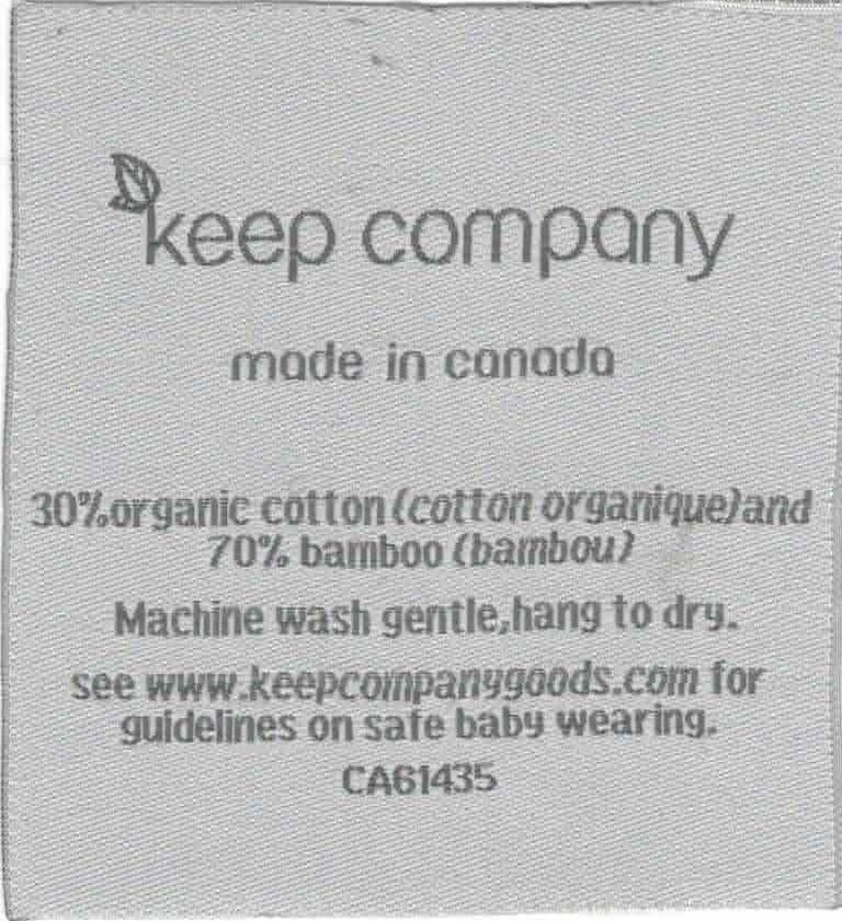 keep company clothing label