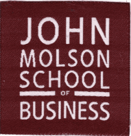 John Molson School of Business clothing label